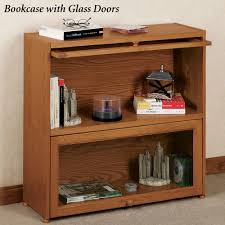 ayden barrister bookcase with wooden doors