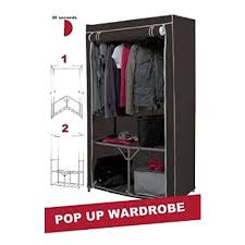 top 30 of double canvas wardrobes rail clothes storage