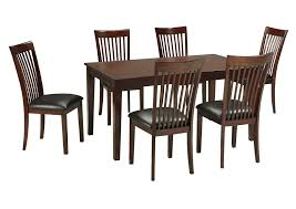 Dining Room Table With Chairs Wendy S Discount Furniture Lawrenceville Ga Mallenton 6