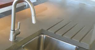 Sinks Kitchens Concrete Countertops Sinks Kitchens Riverbed Concrete