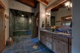 Rustic Faucets Bathroom by Double Vanity With Bathroom Rustic And Traditional Bathroom