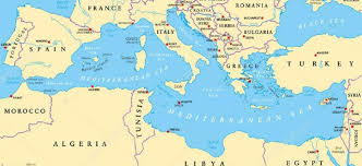 Foggia Italy Map Lampedusa Italy Map Why Aren U0027t Refugees Going To Spain But