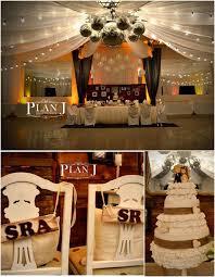 Rustic Wedding Decoration Kara U0027s Party Ideas Rustic Chic Wedding Ideas Supplies Decor
