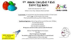 2017 easter egg hunt cincy kids 4 kids