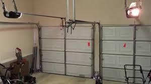 linear garage door openers linear ldco800 vs marantec 4500 opening speed youtube