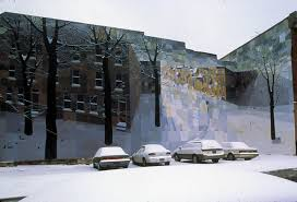 mural arts philadelphia a style evolution mural arts crystal snowscape by david guinn completed 1999 photo by jack ramsdale