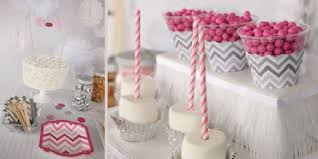 pink and gray baby shower chevron gray baby shower theme bigdotofhappiness