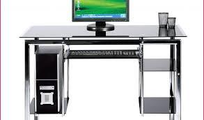 bureau informatique verre trempé bureau informatique en verre alinea avec bureau en verre but 100