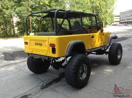 jeep rock crawler scrambler cj8 extra clean 350 built motor rock crawler rust free