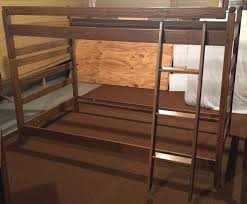 Safety Rail For Bunk Bed A Brandt Ranch Oak Bunk Beds Ladder Safety Rail In Mn Cowboy