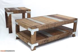 Coffee Tables Plans Industrial Coffee Table Free Diy Plans Rogue Engineer