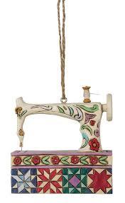 js white sew mach ornament keepsake quilting