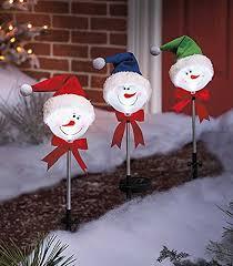 Light Up Snowman Outdoor Snowman Pathway Lights Christmas Wikii