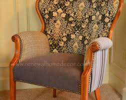 Reclaimed Armchair Chairs U0026 Ottomans Etsy