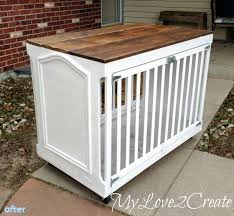 How To Build End Table Dog Crate by Best 25 Dog Crate Table Ideas On Pinterest Dog Crate Furniture