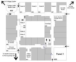 Rowan Map Rowan College Kotoricon Convention Map