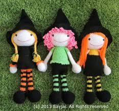 amigurumi witch pattern the 3 witches amigurumi pattern sayjai amigurumi crochet patterns