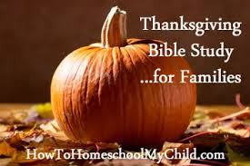 free bible study on thanksgiving for your family