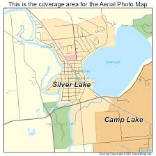 topo maps wisconsin aerial photography map of silver lake wi wisconsin