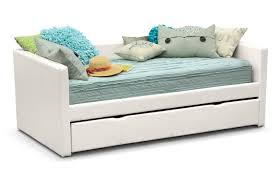 daybed elegant white daybed with trundle with decorative pillows