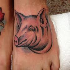 36 best pig tattoo on foot images on pinterest pigs banners and