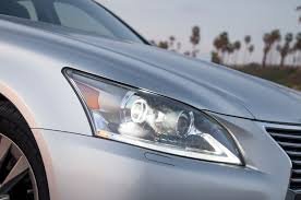 lexus is350 headlight 2015 lexus ls 460 first test motor trend