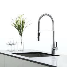 kraus commercial pre rinse chrome kitchen faucet faucet design wonderful ceramic kitchen faucet centerset