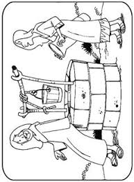 preschool coloring pages woman at the well 3rd sunday of lent the samaritan woman at the well religion