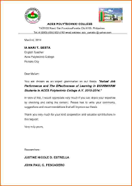 application letter format philippines application letter for fresh graduate teacher philippines
