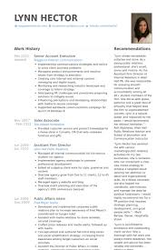 account executive resume samples visualcv resume samples database