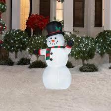 27 outdoor lighted snowman decorations lighting ideas