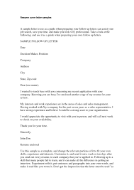 professional resume cover letter format