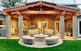 Outdoor Patio Landscaping 50 Best Outdoor Fire Pit Design Ideas For 2017
