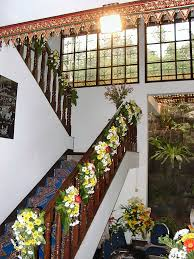 Banister Decorations Floral Railing Decoration Wedding House Decoration Wedding