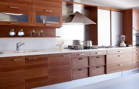 cuisine moderne bois cuisine moderne pays idees de decoration