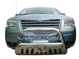 vanguard 08 15 dodge caravan front bull bar bumper protector grill