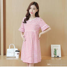 best maternity clothes 2018 best selling maternity clothes stripe dress summer