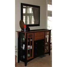 craftsman bar and curio sideboard from yestertec