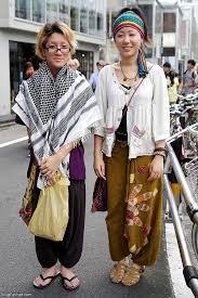 hippie style harajuku hippie style street fashion