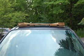 Diy Roof Rack Awning A Diy Roof Rack Make Your Small Car Carry Big Stuff