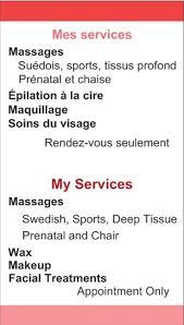 Sports Massage Business Cards Misaoku Montreal Misaoku1 Twitter