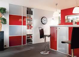 Cuisine Petit Espace by Indogate Com Cuisine Rouge Avec Bar