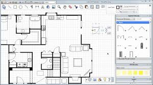 how to draw a sliding door in a floor plan adding doors windows and more autocad freestyle symbols tutorial