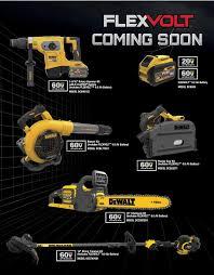 amazon black friday deals on string rimmer more dewalt flexvolt 60v tools new track saw blower chainsaw