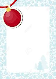 dear santa letter template free frame with red christmas ball and white background for your vector frame with red christmas ball and white background for your message usable for dear santa template letter