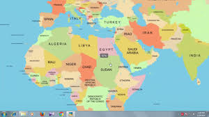 Picture Of The World Map Easy Way To Remember World Map Youtube