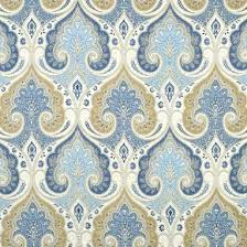 Yellow And Blue Curtains Made Curtain Panels Kravet Latika Paisley In Festival