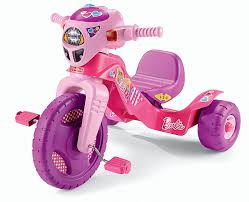 Amazon Com Fisher Price Barbie Lights Sounds Trike Toys Games