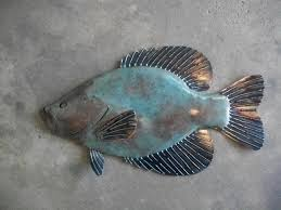 Fish Home Decor Accents Metal Fish Wall Accent Zesty Home