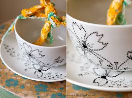 ceramic bowl painting ideas for creative decorations interesting